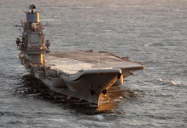 Kuznetsov at sea