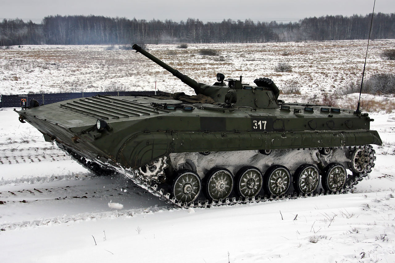 Russian and Ukrainian Upgrade Programs of BMP-1 and BMP-2 IFVs (2)