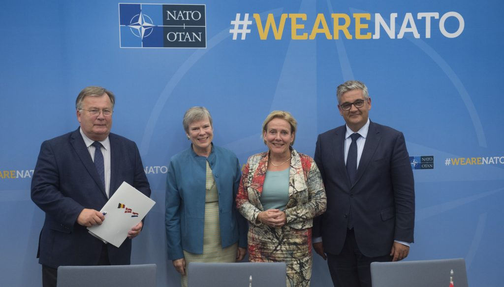 NATO defence ministers meet to from CSOCC