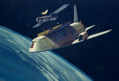 concept art for NASA's shuttle