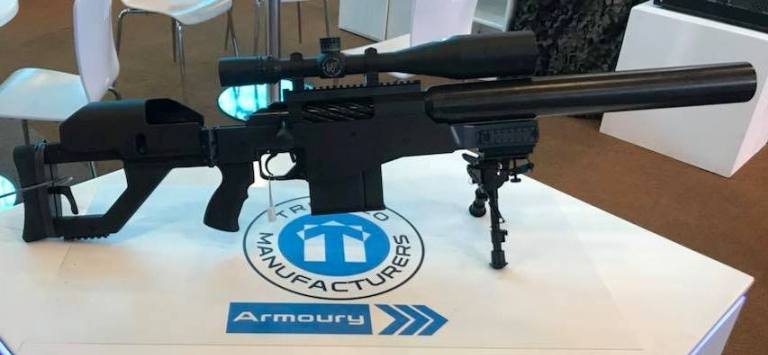 Truvelo AMRIS 20x42mm Suppressed Anti-Materiel Bolt-Action Rifle (768)