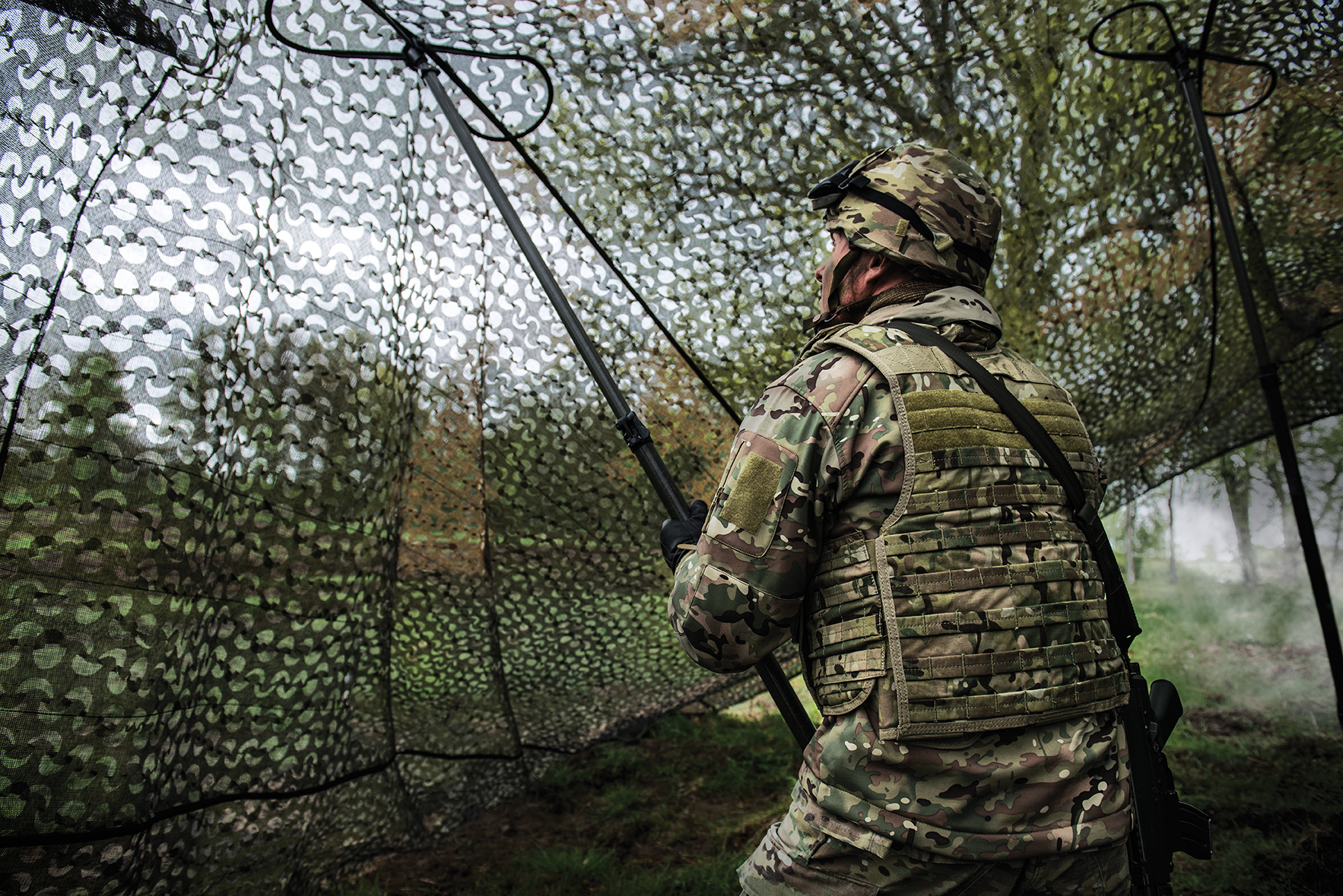 US Army Orders Saab Camouflage System - Overt Defense