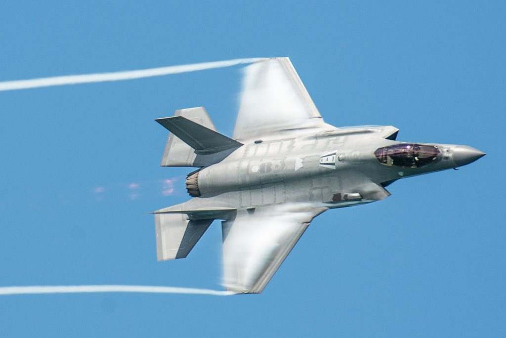 F-35 at Miami Beach Air and Space Show May 2019