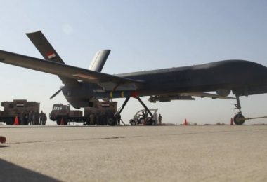 CH-4 UAV in Iraqi service. Photo from the Iraqi Ministry of Defence