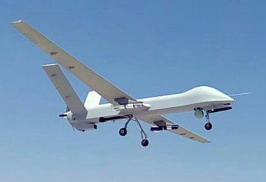 CH-4 UAV returning from missile trials (source: Chinese state media Xinhua)