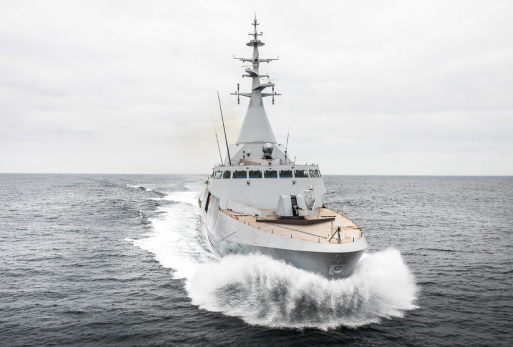 Gowind-class corvette (courtesy of Naval Group)
