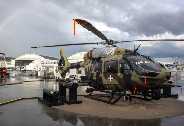 H145M Serbia Static Display at Partnership 2019 in Belgrade (photo courtesy of Airbus Helicopters)