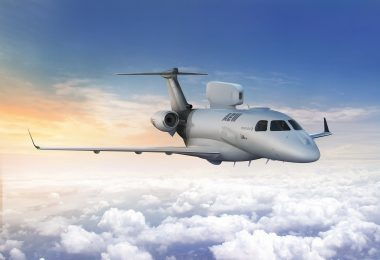 Concept render of the P600 AEW (courtesy of Embraer)