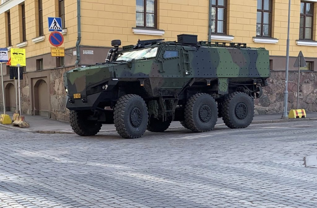 Protolab PMPV in urban conditions in Helsinki (photo courtesy of Protolab on Twitter)