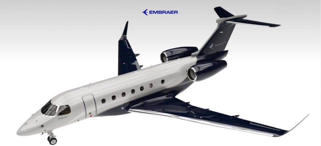 Praetor 600 (courtesy of Embraer)