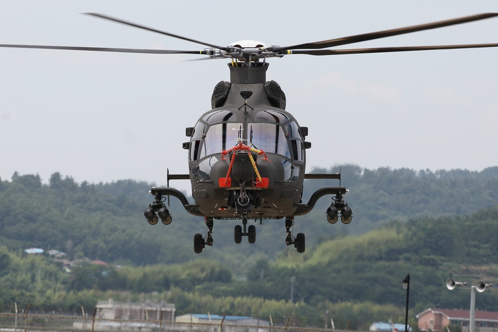 KAI LAH at its maiden flight on 4 Juny 2019 (photo courtesy of Korea Aerospace Industries)