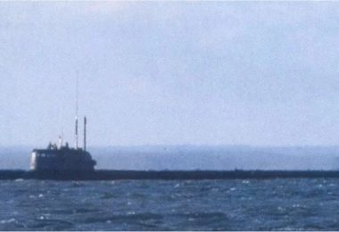 Reported picture of the highly secretive Russian Navy submarine Losharik