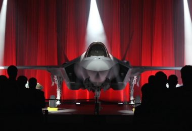 Lockheed Martin's Roll-out ceremony of Turkey's first F-35 on 21 June 2018 (photo courtesy of Lockheed Martin)