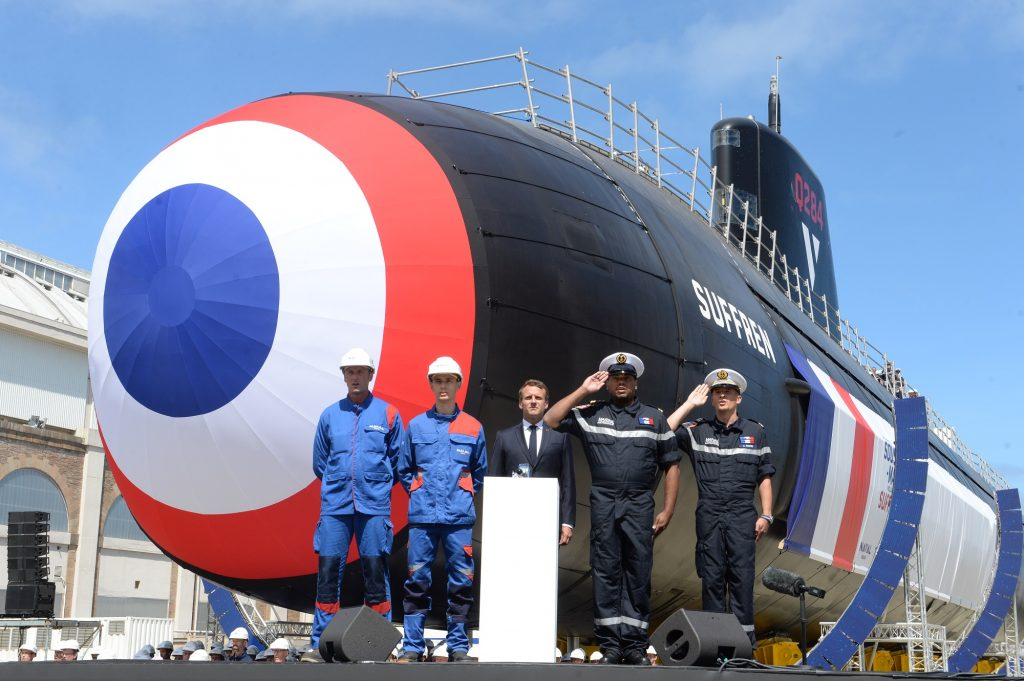 Launching Ceremony of the Barracuda submarine class (photo courtesy of Naval Group)