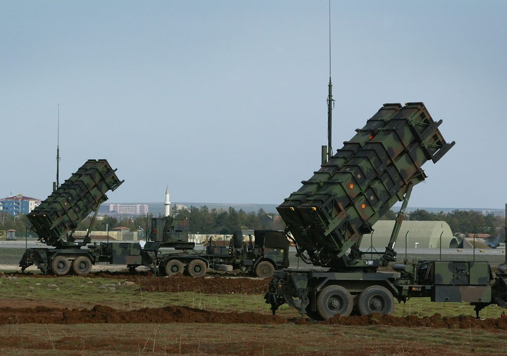 Royal Netherlands Army Patriot missile systems in Turkey 2003 (photo courtesy of the Netherlands Ministry of Defense)