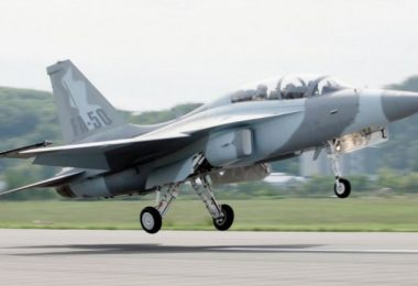 KAI FA-50 taking off (photo courtesy of Korea Aerospace Industries)
