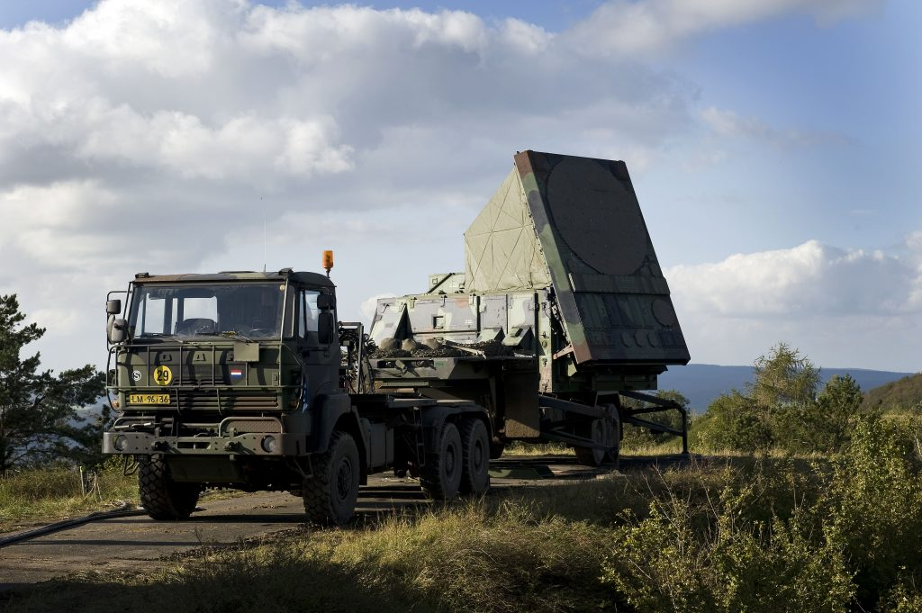 Royal Netherlands Army Patriot radar unit in Hannover, Germany in 2011 (photo courtesy of the Netherlands Ministry of Defense)