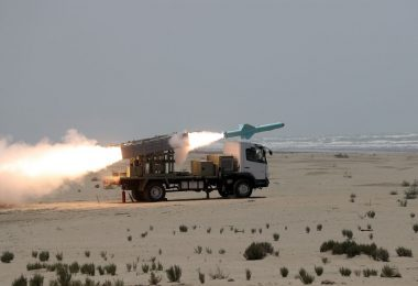 "Iran Test Launches ""Electronic War Resistant"" Cruise Missiles"