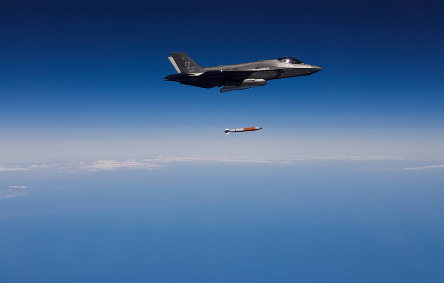 F-35 Demonstrates B61-12 Nuclear Bomb Capability
