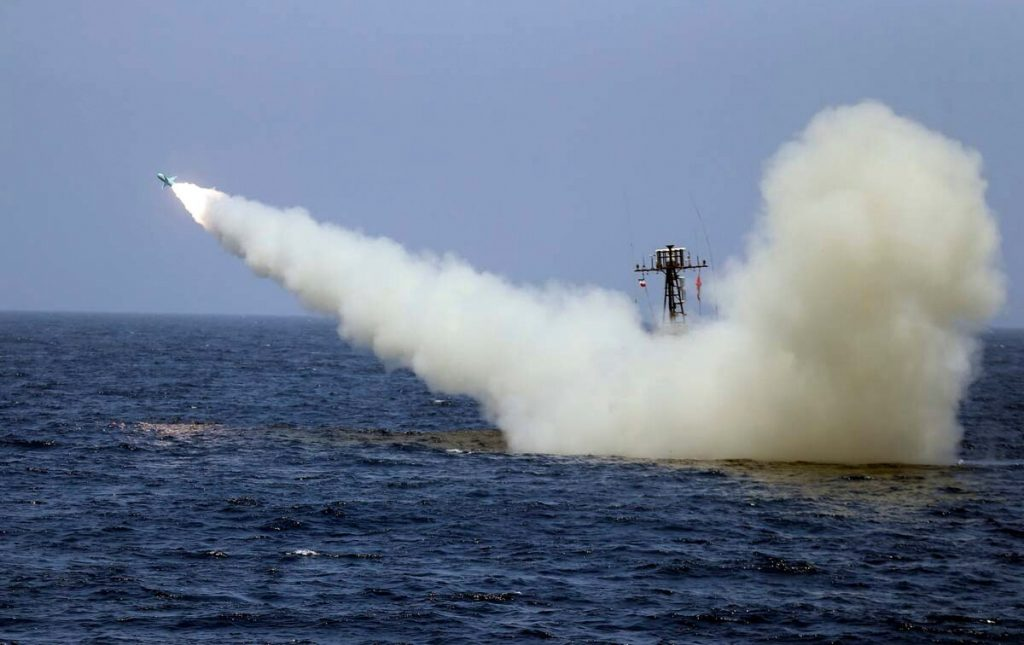 """Iran Test Launches """"Electronic War Resistant"""" Cruise Missiles"""
