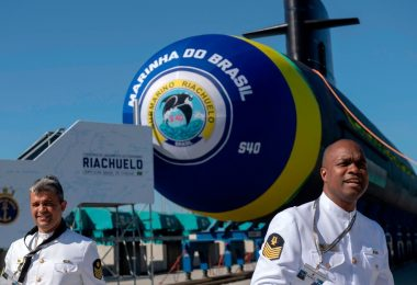 Brazil's New Riachuelo Submarine Completes Independent Surface and Propulsion Tests