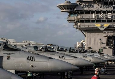 CVW-3 Returns from Seven-Month Deployment on USS Eisenhower