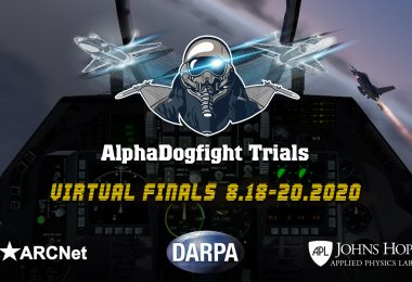 Human F-16 Pilot Faces off against AI Pilots in Upcoming AlphaDogfight Trials