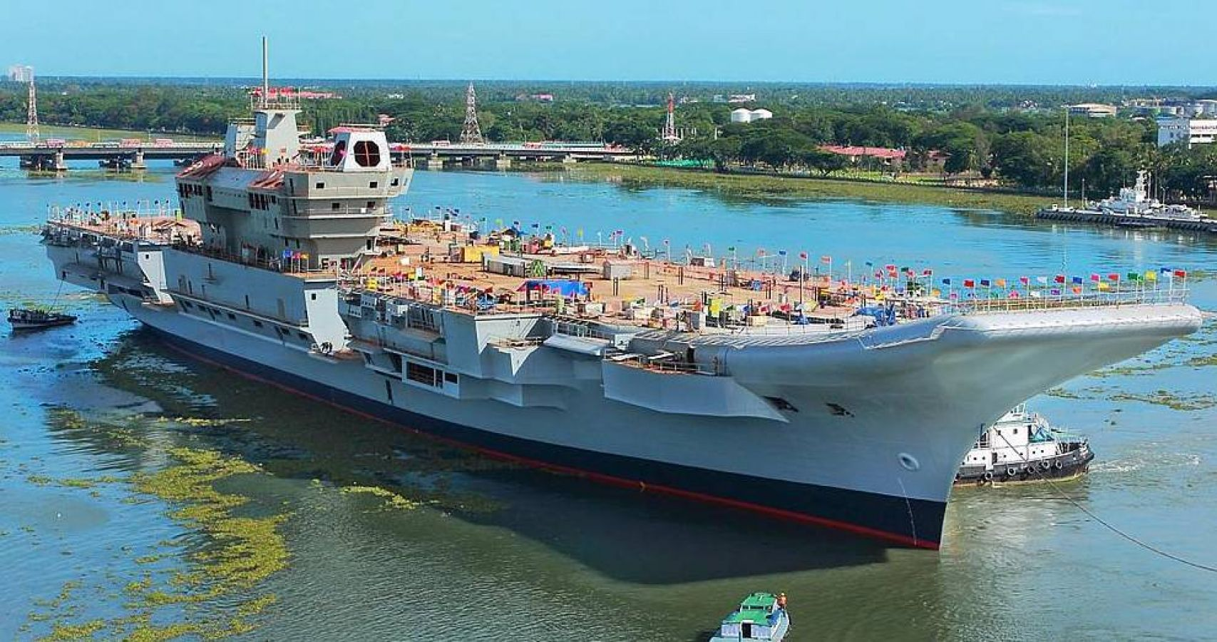 India U0026 39 S First Indigenous Aircraft Carrier The Vikrant